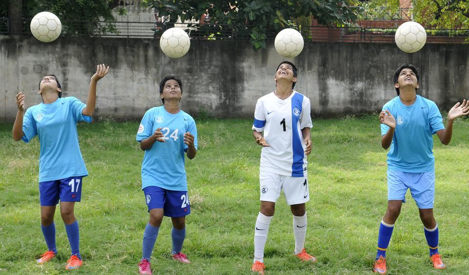 The girls from Sadalpur village in Hisar, Haryana have set an example in perseverance, overcoming odds to make a mark for themselves on the football field.