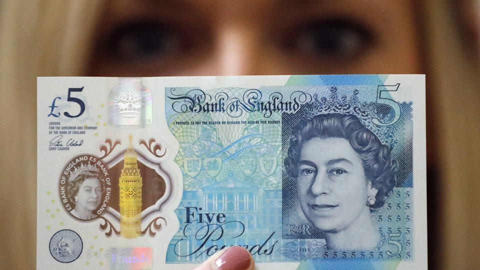 The new £5 polymer note issued by the Bank of England uses tallow as part of its production process, and some temples in Britain were refusing to accept the notes.