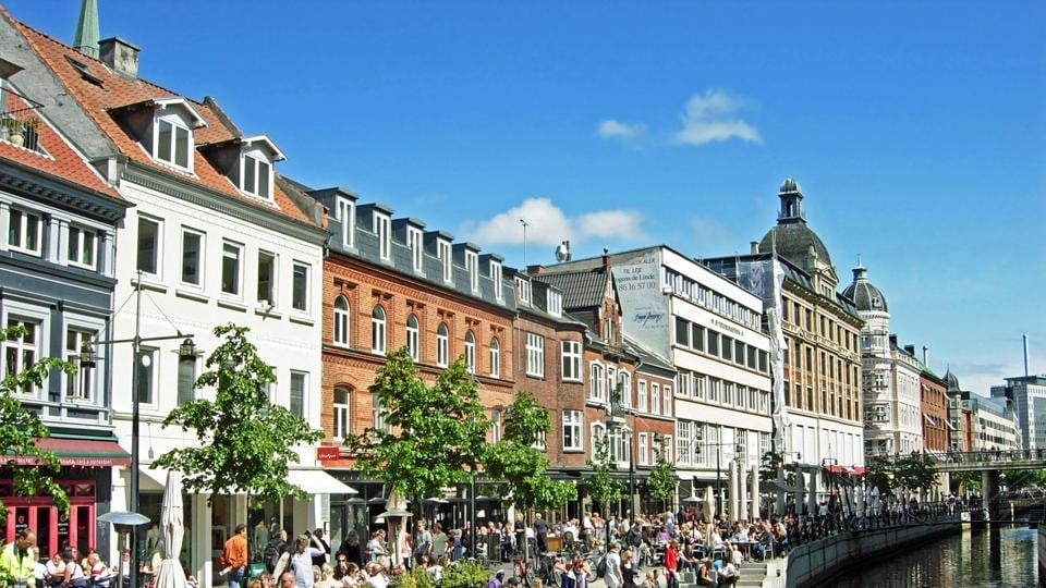 Aarhus and Copenhagen, the two most populous cities of Denmark, are both bustling travel centres. (AFP)