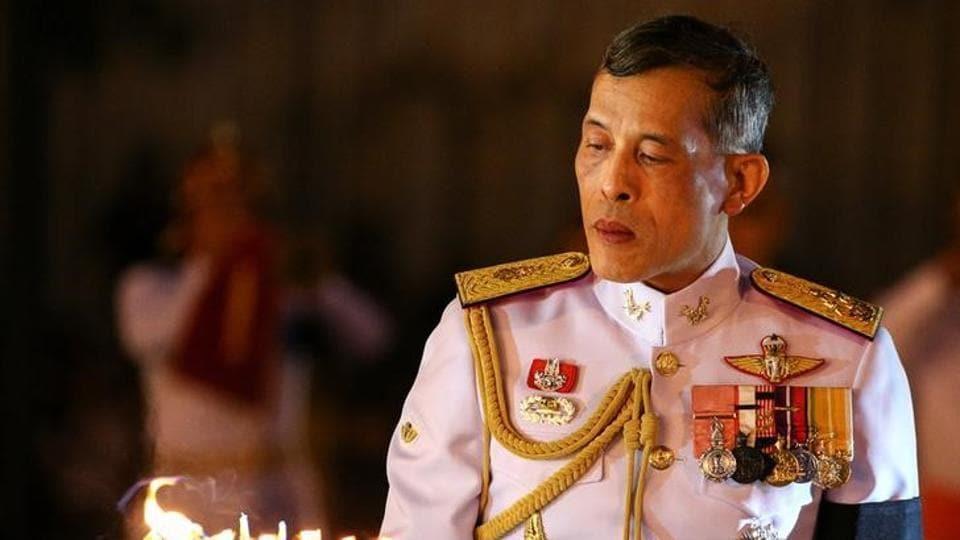 Thai activist,King Rama X,King Maha Vajiralongkorn