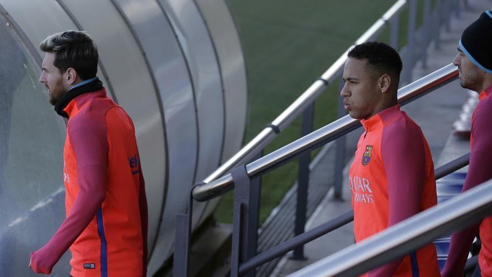 Neymar,Lionel Messi,Mohamad Faiz Subri