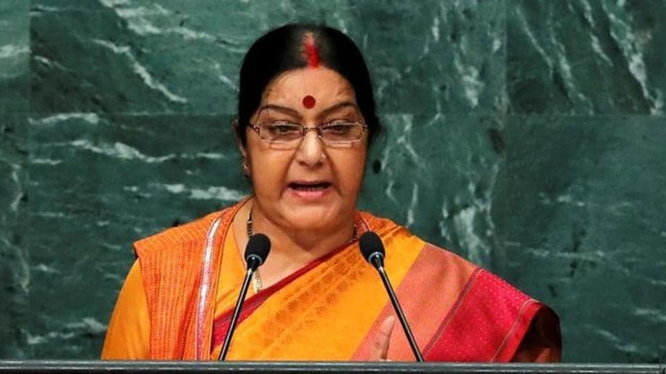 Minister of external affairs Sushma Swaraj took cognizance of  media reports about the alleged gang-rape of an American tourist in Delhi and asked the police should register a case.