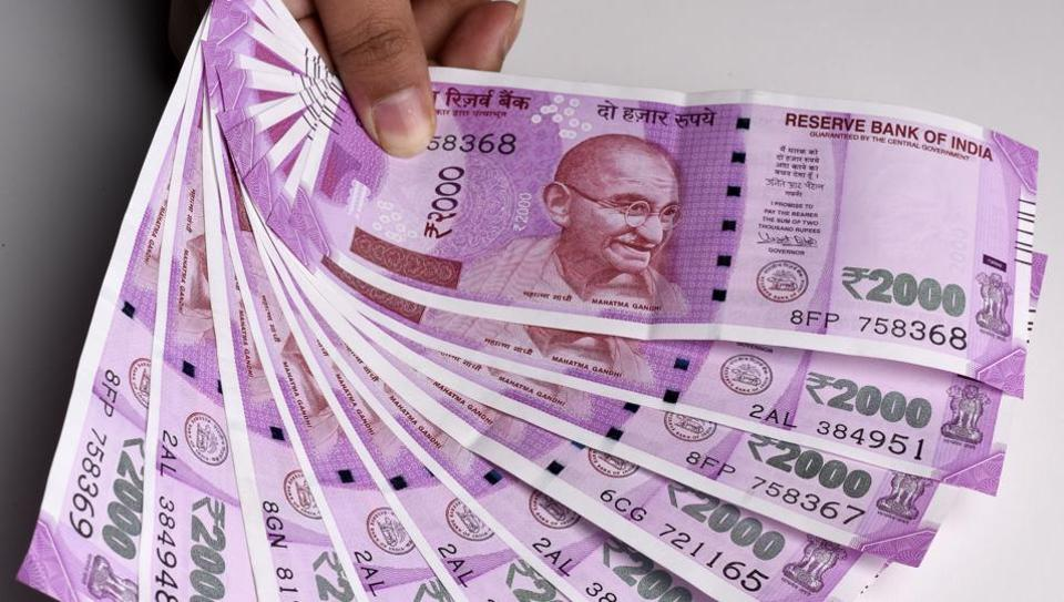 A farmer from Andhra Pradesh, was nabbed at Whitefield for illegally carrying Rs 12.10 lakh in Rs2,000 notes in a car to exchange them for old notes at 20% commission.