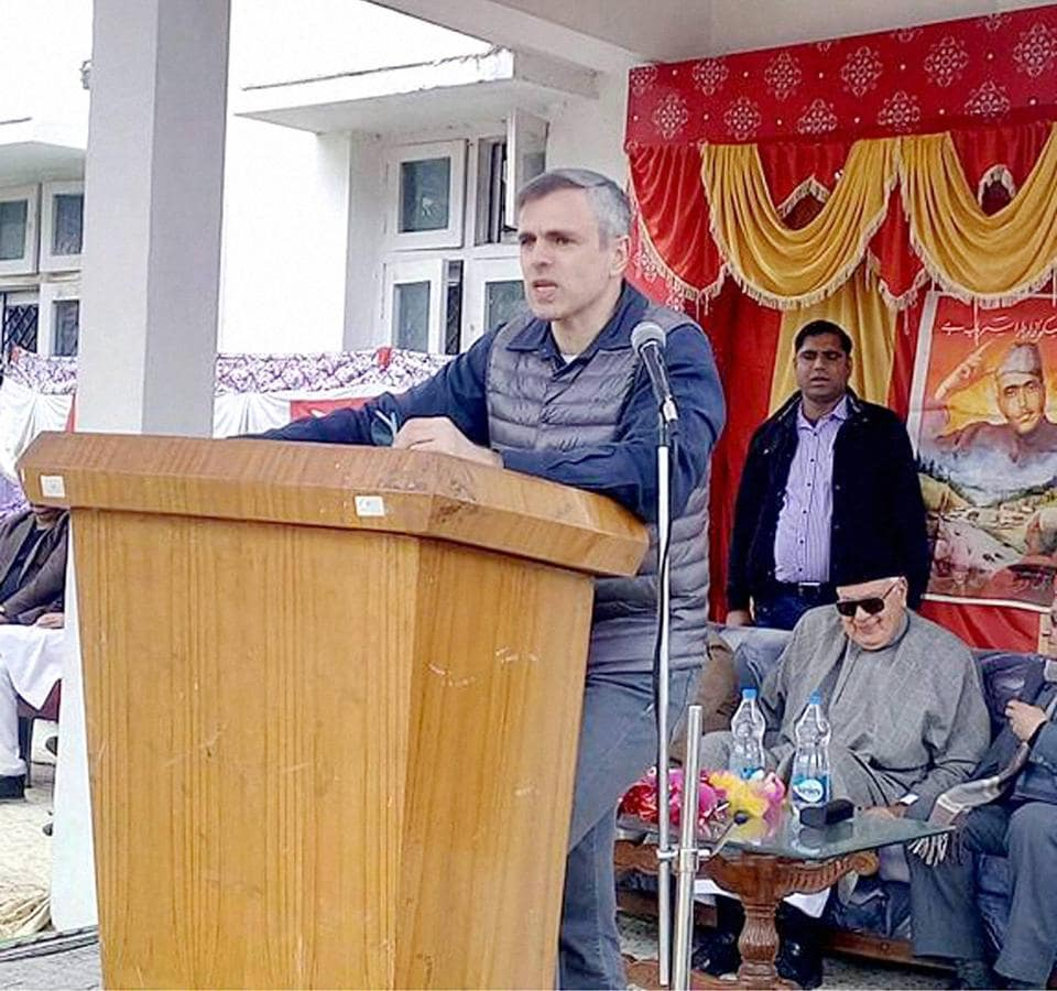 Omar Abdullah,Pakistan,Kashmir
