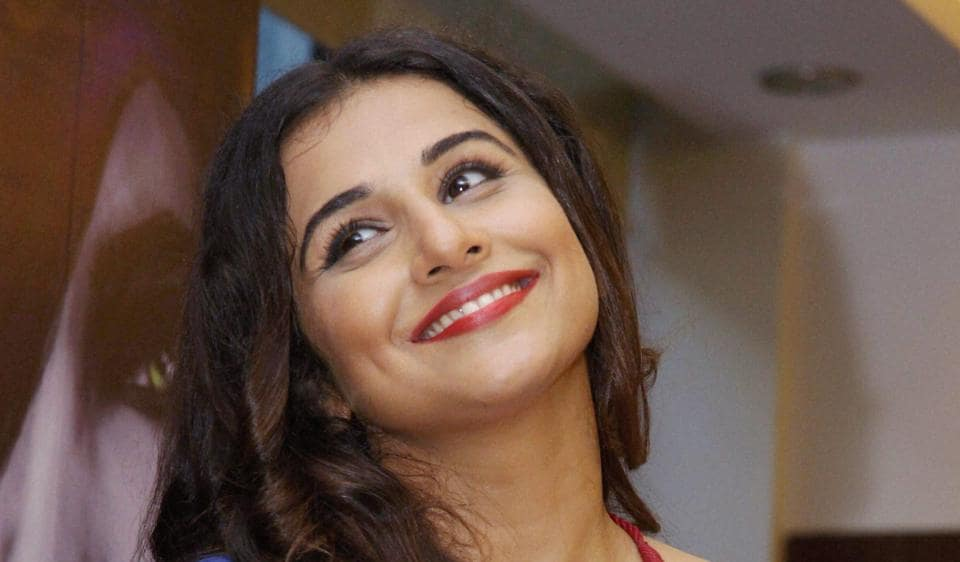 Actor Vidya Balan says her husband tries to protect her by not sharing number when a film is not doing well.
