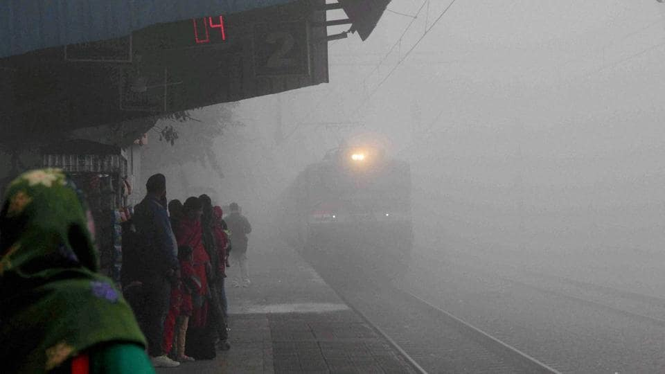 Image result for trains in fog delayed