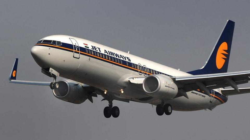The Bengaluru-bound Jet Airways flight was diverted to Hyderabad after its pilot reported hydraulic failure.