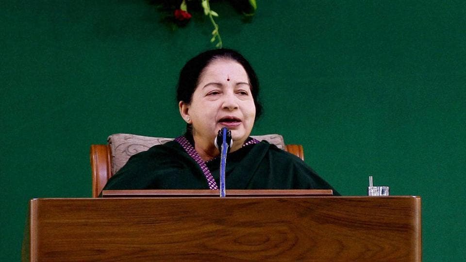 Jayalalithaa was hospitalised on September 22 after she complained of high fever and dehydration. (PTI File Photo)