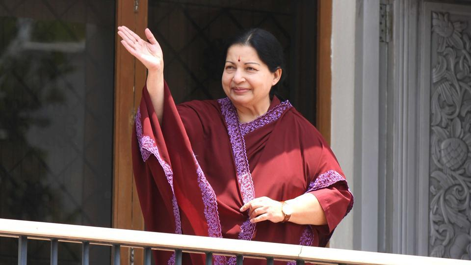 Jayalalithaa's health remained critical throughout Monday as doctors struggled to help her recover from a cardiac arrest on Sunday evening.  (HT File Photo)