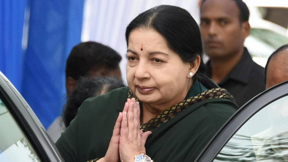Hours after she was declared to have completely recovered, ailing Tamil Nadu chief minister Jayalalithaa was back in the Critical Care Unit of Apollo Hospital. (PTI File Photo)