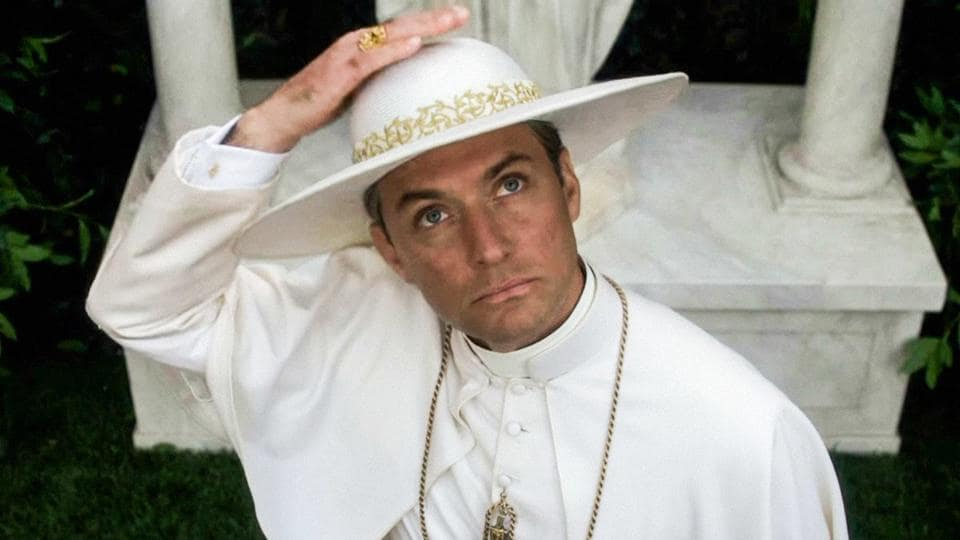 Jude Law plays the controversial main role of America's first (fictional) pope.