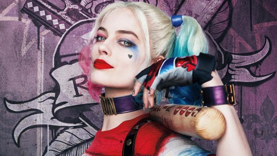 Margot Robbie played Harley Quinn in Suicide Squad.