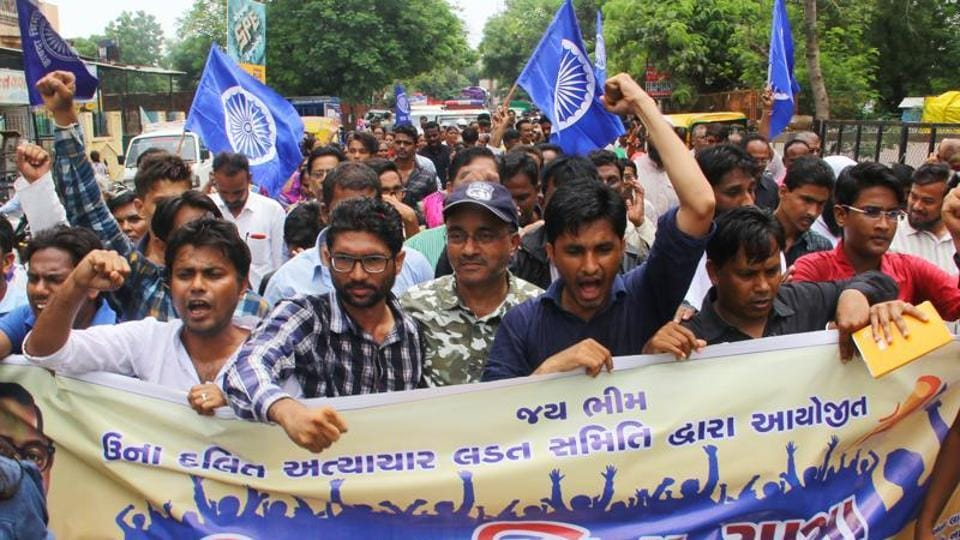 Atrocities against Dalits,Una protests,Conversion