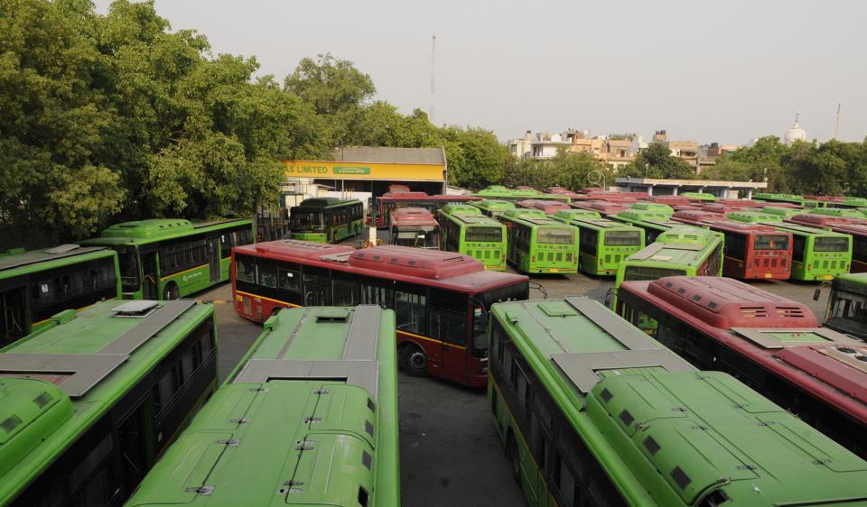 Buses,DTC,Delhi Transport Corporation