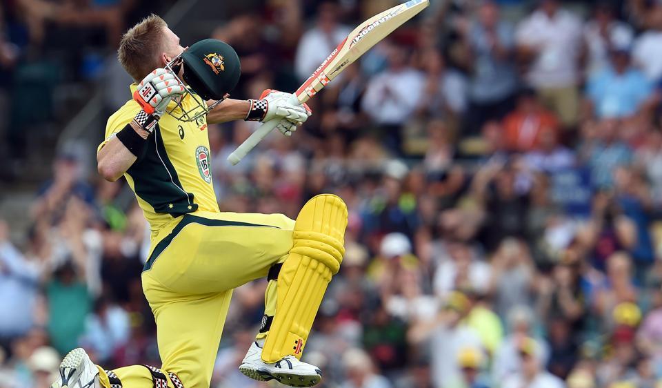 David Warner scored his 10th ODI century on Tuesday.