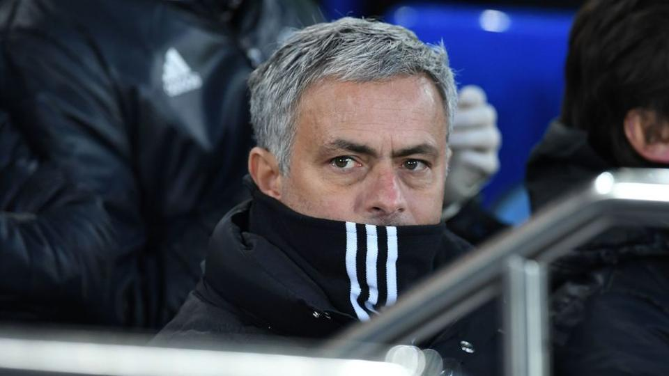 Manchester United's Jose Mourinho  expressed his displeasure at criticism of his side before walking out of the media briefing.