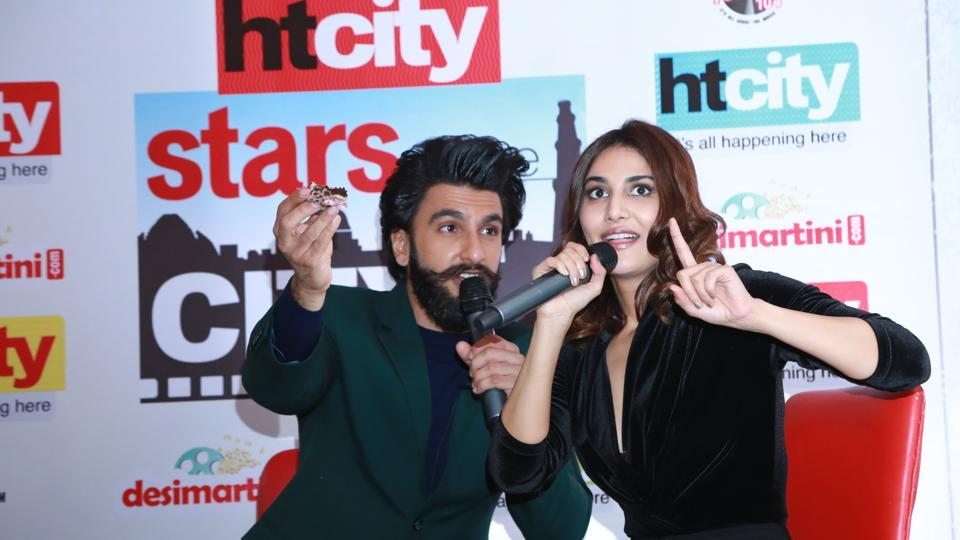 Vaani Kapoor reveals secrets about Ranveer that no one knows. (AMAL KS /HT Photo)