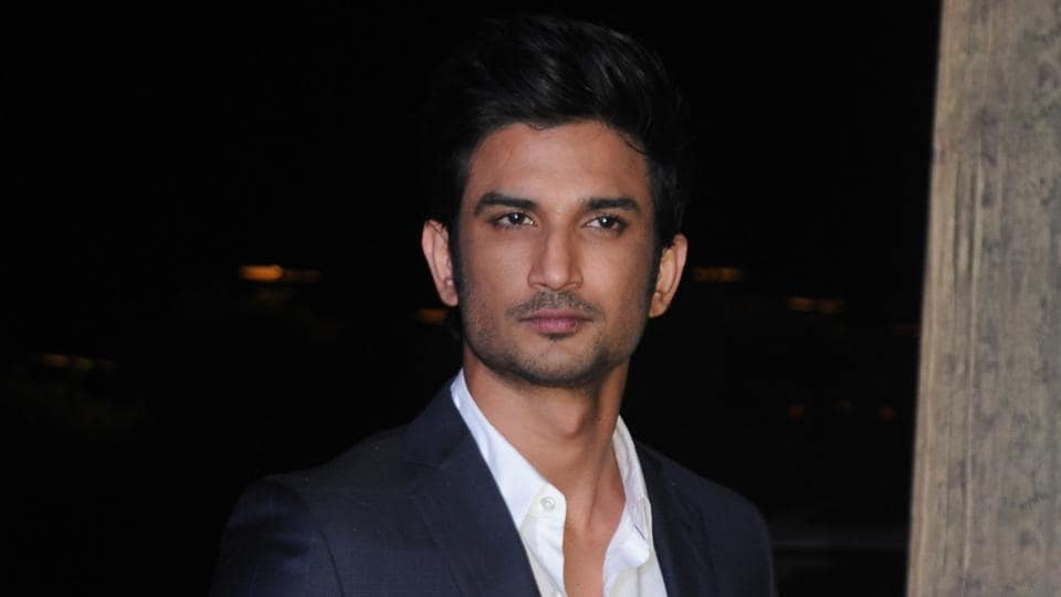 Sushant Singh Rajput looked dapper in a shiny suit. (AFP)