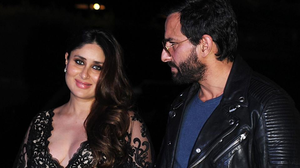 Parents-to-beSaif Ali Khan and Kareena Kapoor Khan also were seen together. (AFP)