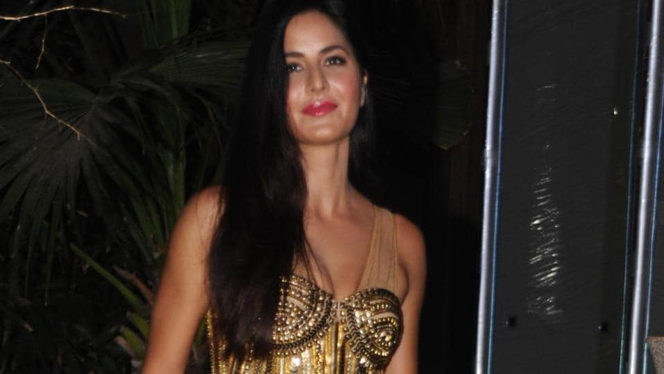 Katrina Kaif also joined in on the celebrations. (AFP)