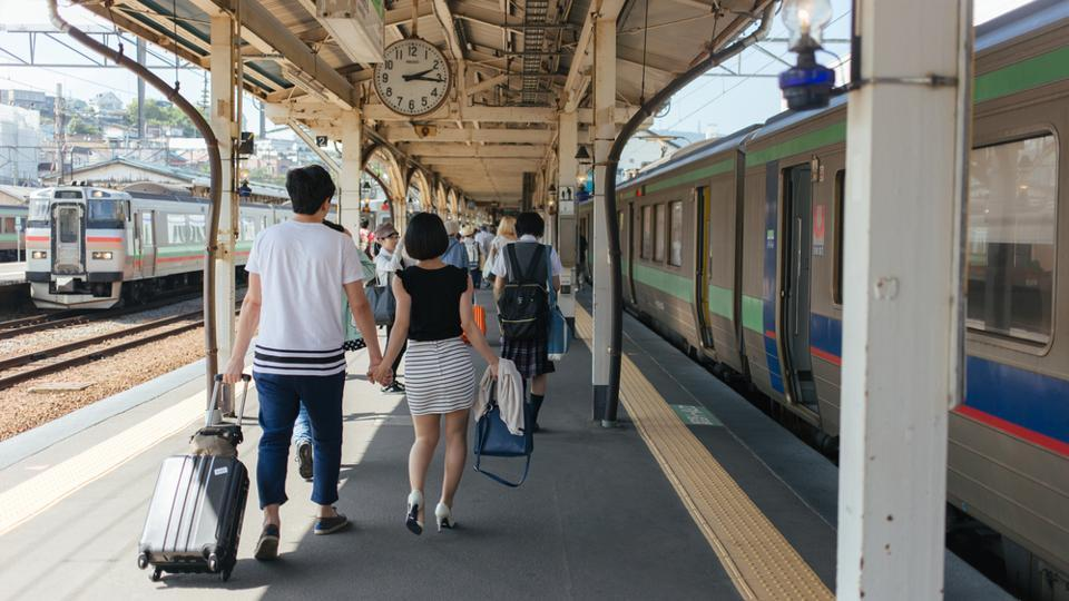 The man admitted to snipping hair of one woman who was travelling on a Japan rush-hour train.