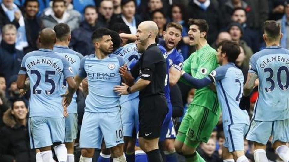Manchester City's players were involved in a brawl with Chelsea players, which has resulted in several bans for their players.