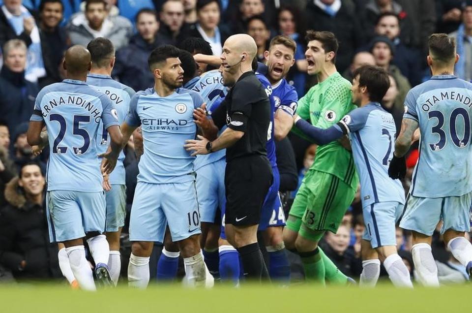 Manchester City,Chelsea,Sergio Aguero