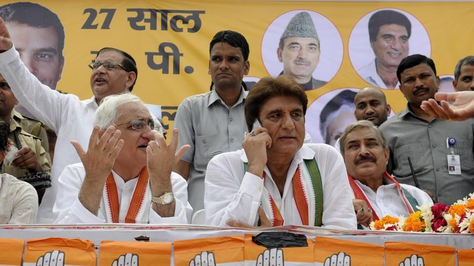 """Young Congress office bearers have blamed senior leaders Salman Khurshid and Jairam Ramesh for the """"decline in quality"""" and subscription of the party's mouthpiece Sandesh."""