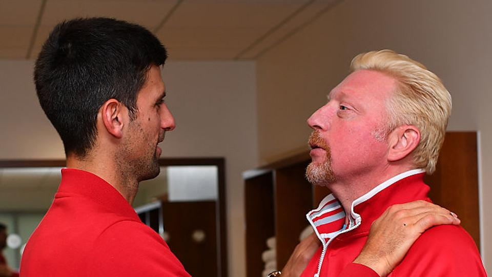 Novak Djokovic and coach Boris Becker worked together for three years during which the Serbian player won six out of his 12 Grand Slam titles.