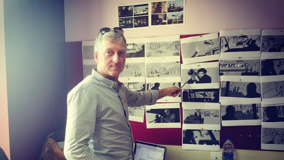 Tom Struthers has worked on Hollywood hits like The Dark Knight Rises and X-Men: First Class.