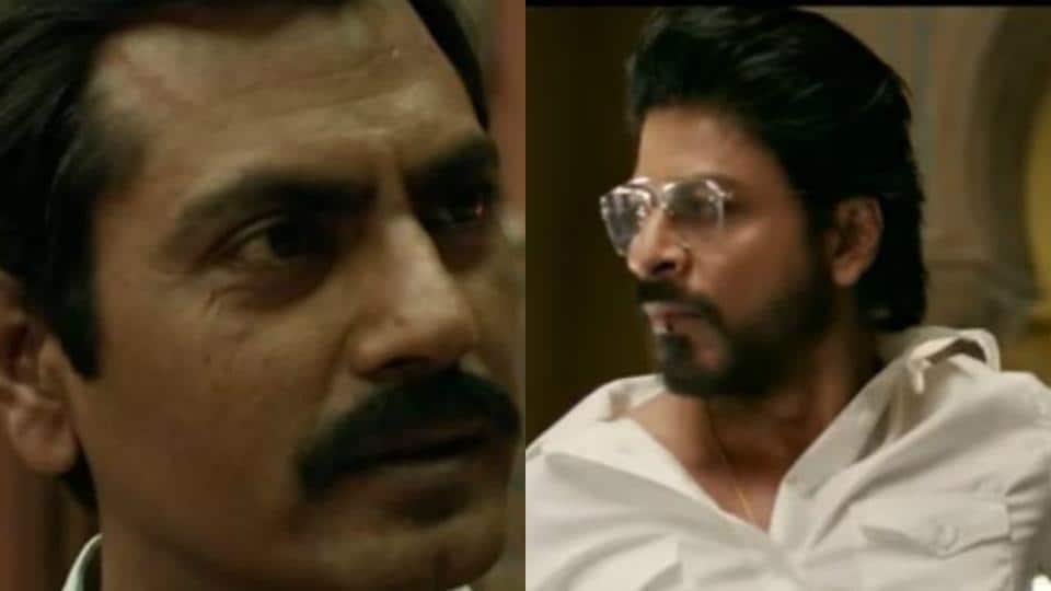 Shah Rukh Khan plays a bootlegger while Nawazuddin is a cop in Raees.