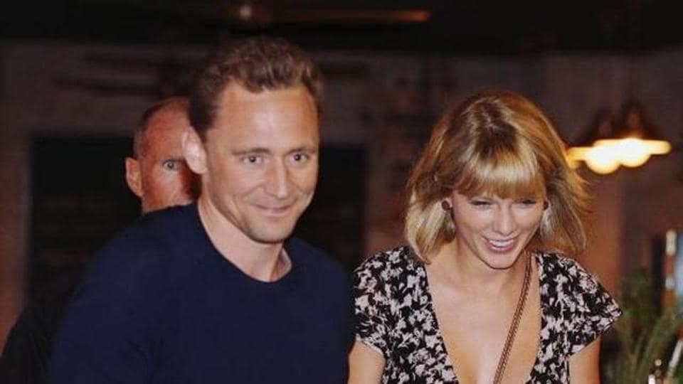 Tom Hiddleston,Taylor Swift,Grafitti