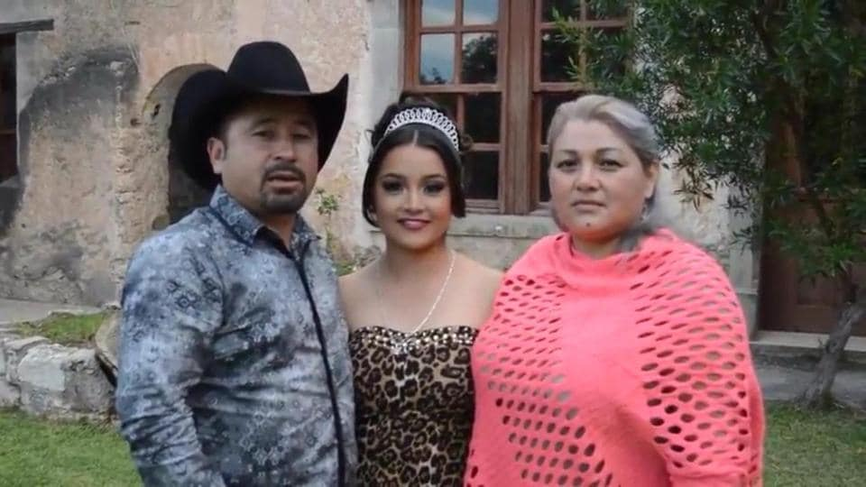 Crescencio Ibarra sent out an online invitation for his daughter Rubi's 15th birthday party.
