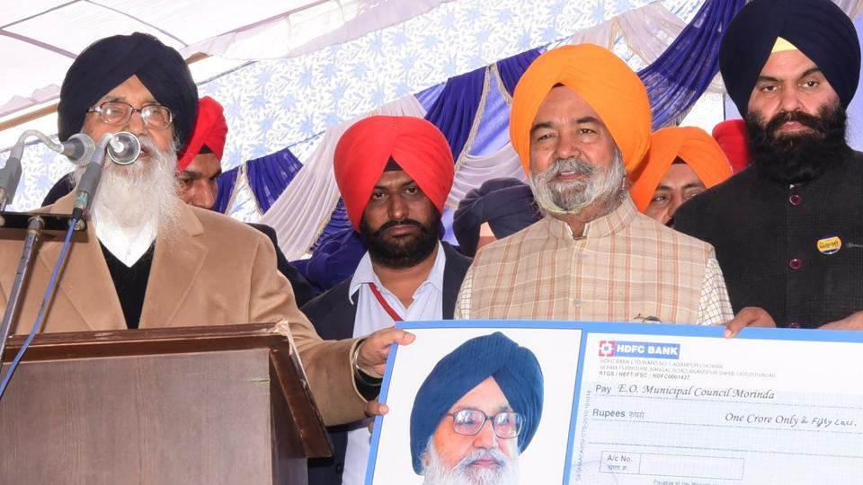 Punjab,chief minister Parkash Singh Badal,SAD
