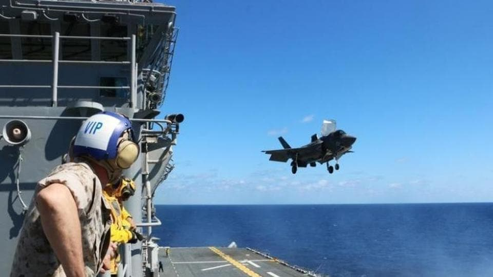 US Marine Corps says one of its pilots has ejected from an F/A-18 jet in southern Japan, and search and rescue efforts are underway.