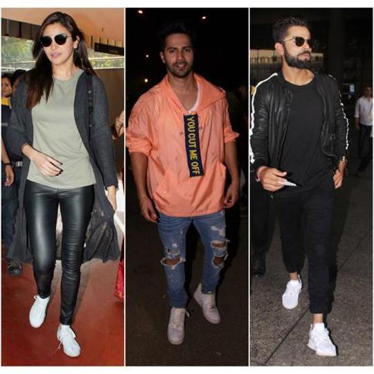 White sneakers,Bollywood,Varun Dhawan