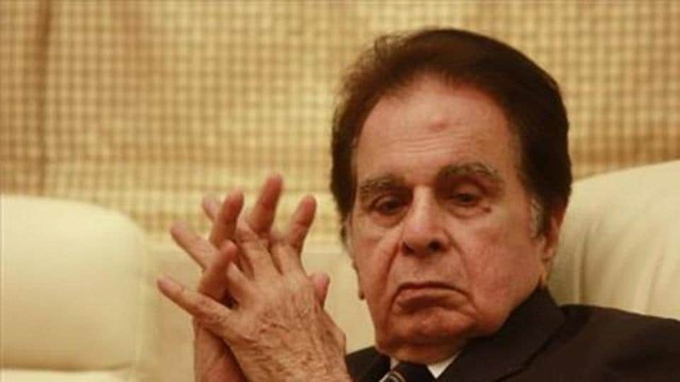 Actor Dilip Kumar has been admitted to Lilavati Hospital.