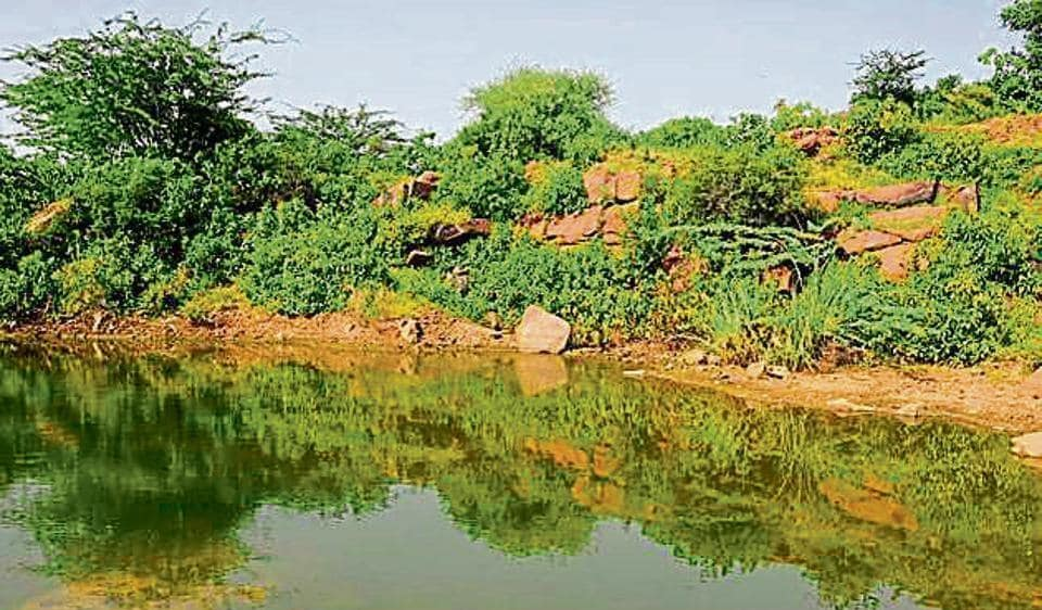 The 350-acre Ghata Jheel in Sector 58 was once counted among the biggest natural water bodies in Gurgaon.