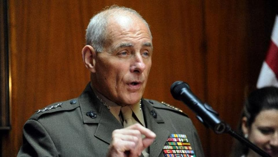 Marine Gen. John Kelly, whose last command included oversight of the Guantanamo Bay detention center has been picked to run the Dept of Homeland Security.