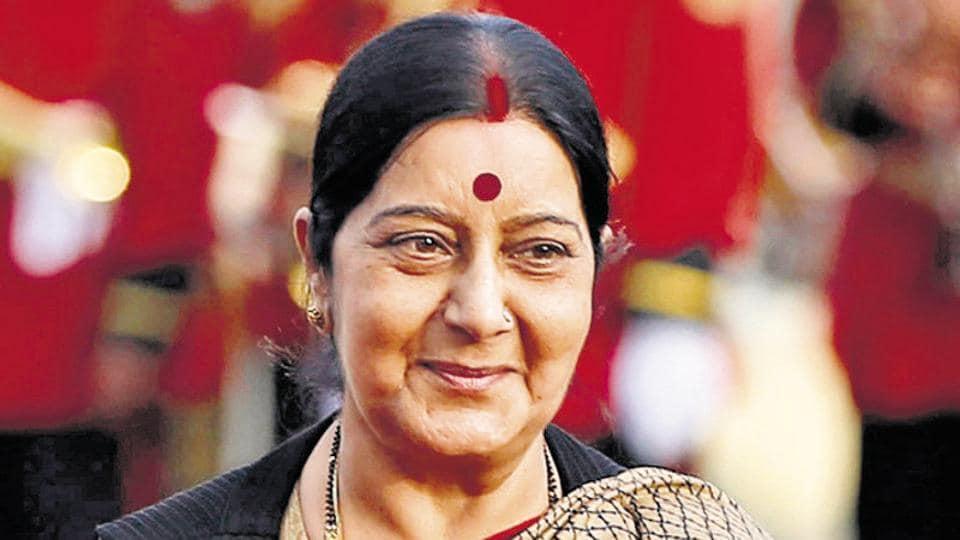 Sushma Swaraj,External affairs minister,Egyptian woman
