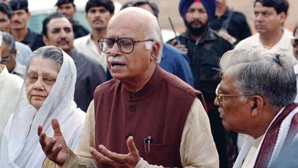 Lal Krishna Advani (C) demanded that action should be initiated against those lawmakers responsible for the continued deadlock in both the houses.