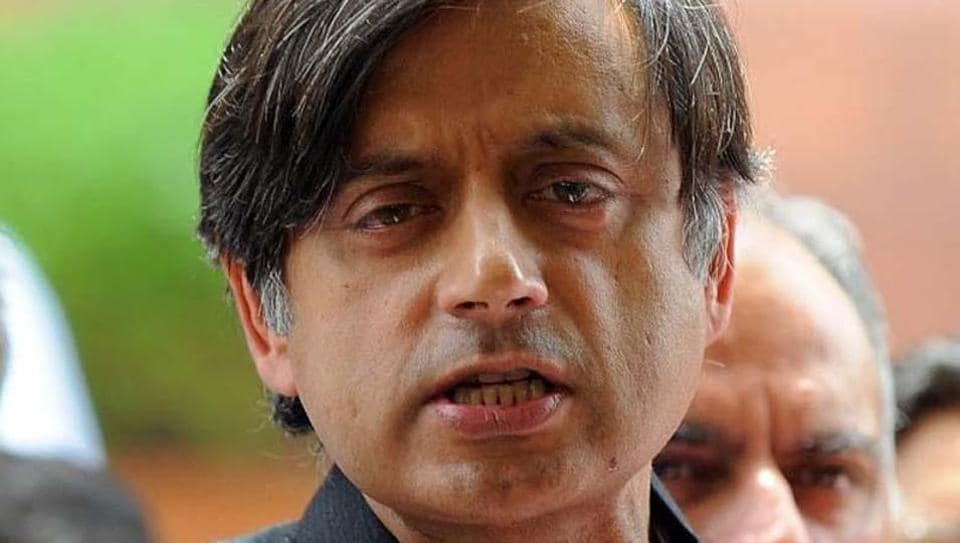 A theft was reported from inside the official bungalow of Congress MP Shashi Tharoor in Delhi.