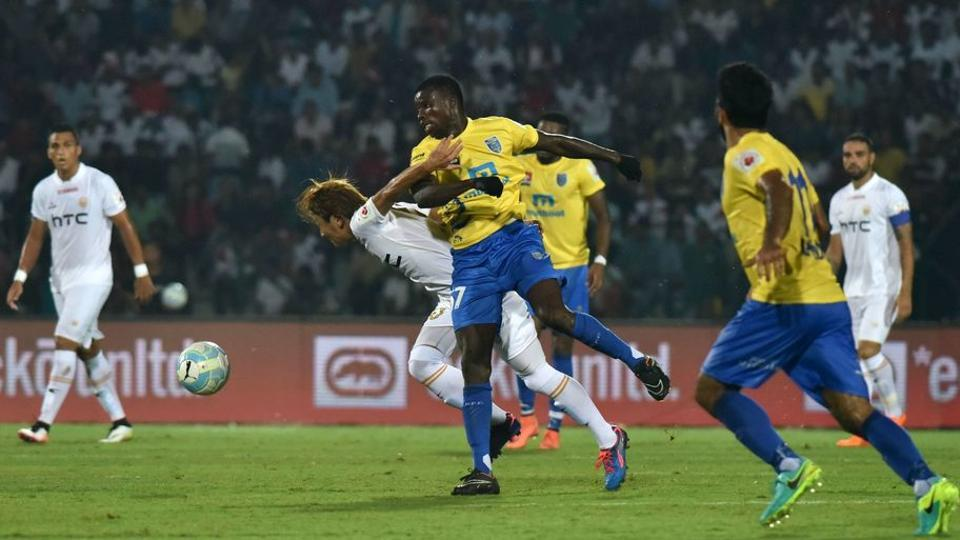 Kerala Blasters FC made it to the semi-finals only after beating NorthEast United FC 1-0 in their last league match.