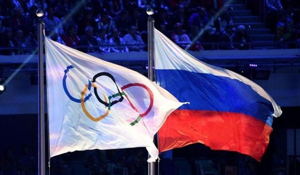 "The IOC executive board says the sanctions imposed on Russia for doping scandals have been extended ""until further notice."