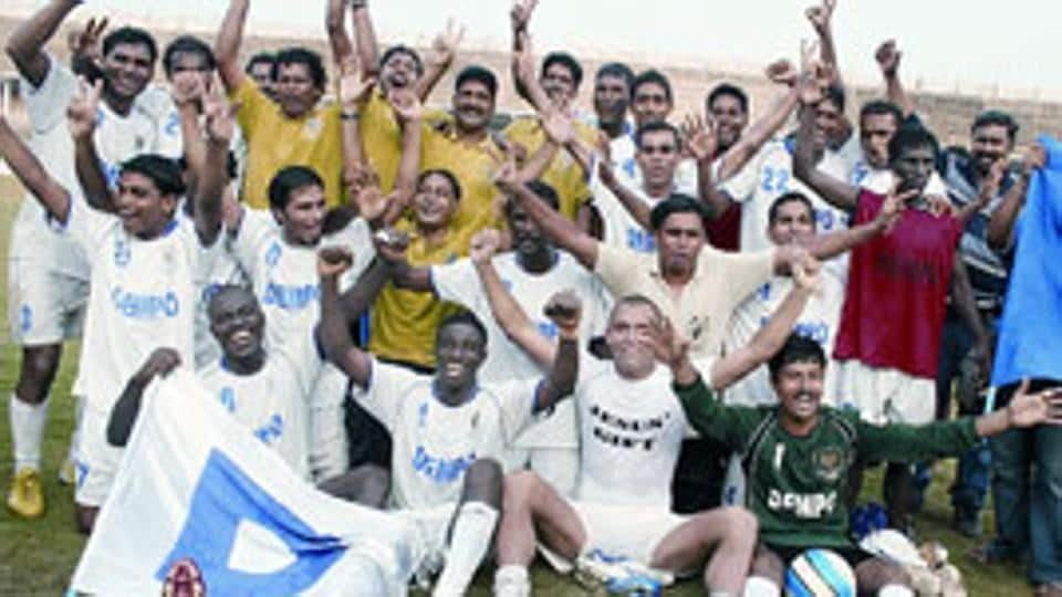Dempo have won the I-League title thrice.