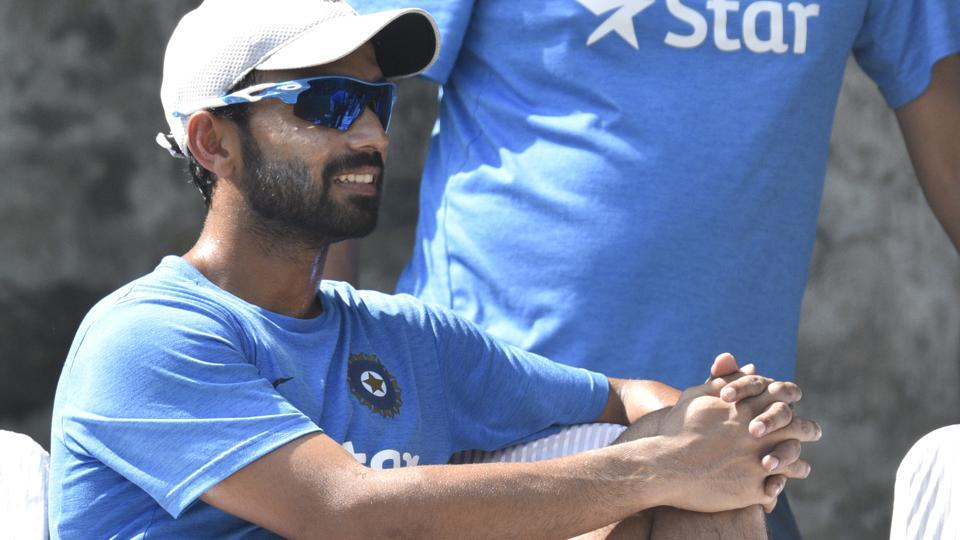 Ajinkya Rahane is out of the India vs England series due to a finger injury sustained during training in Mumbai on Wednesday