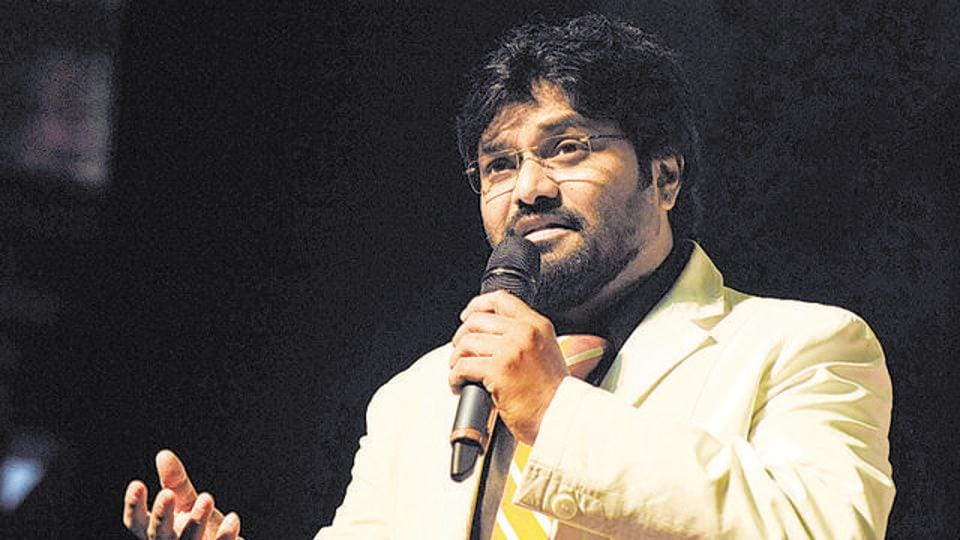 Babul Supriyo during an event in Mumbai.