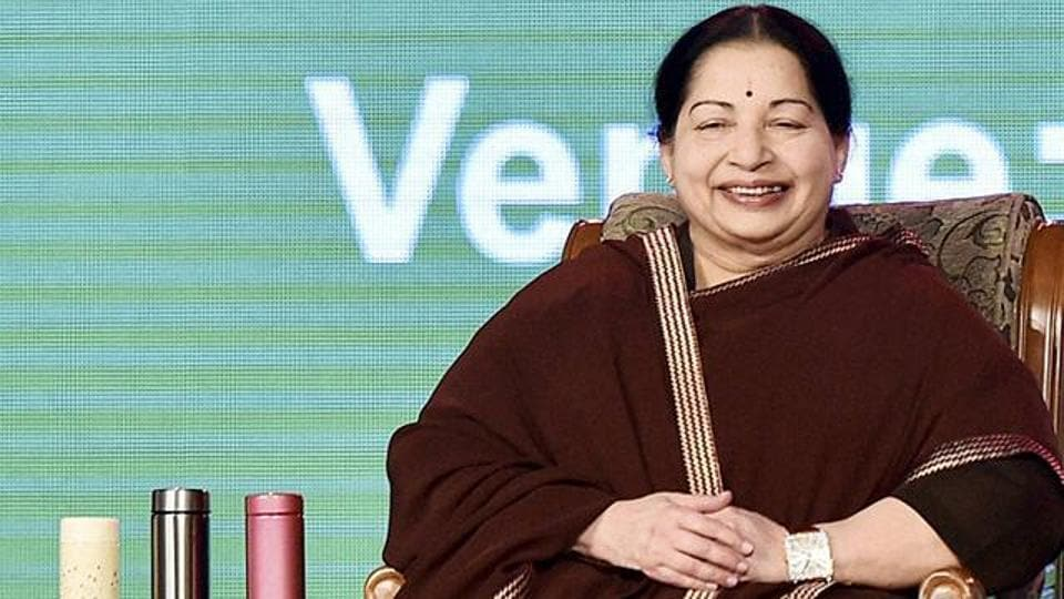 Tamil Nadu's former chief minister J Jayalalithaa, who passed away in Chennai on December 5, 2016.