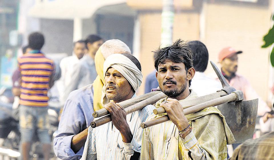 demonetisation,labourer,work
