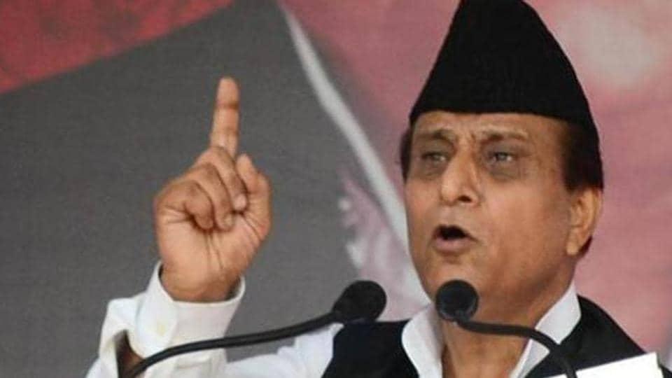 File photo of Uttar Pradesh minister Azam Khan.